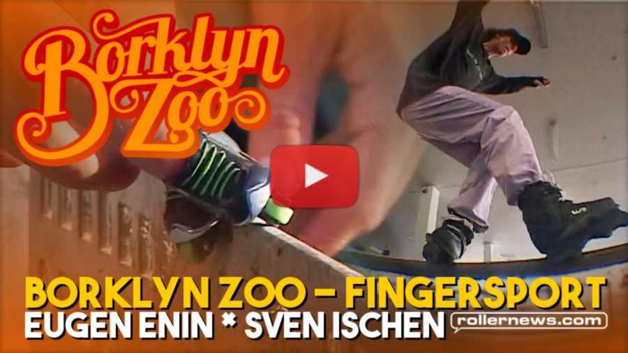 Borklyn Zoo - Fingersport (2021) with Eugen Enin & Sven Ischen