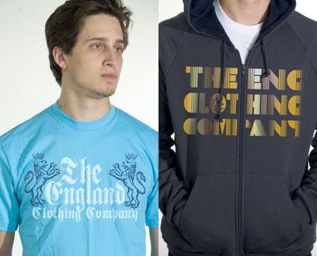 england clothing
