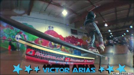 barn burner: Victor Arias