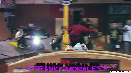 barn burner: Franky Morales
