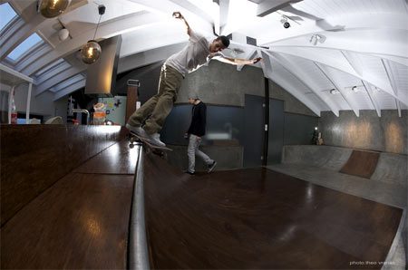 Ramp House for skaters