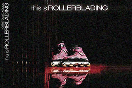 this is rollerblading