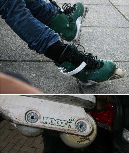 USD: Green Albert Hooi Skates
