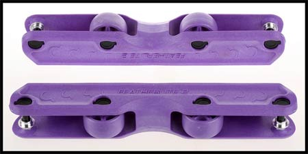 Ground Control Featherlite 2 Frame PURPLE