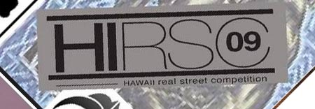 Hawaii Real Street Competition 2009