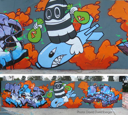 Gost: Strasbourg (France), Graffiti Wall