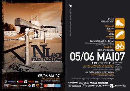 Nouvelle Ligne - NL Contest 2007 (Strasbourg, France) - Results